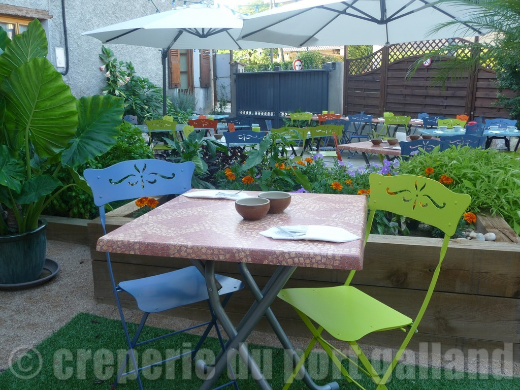 creperie du Port Galland terrasse